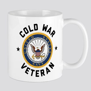 Navy Cold War Veteran 11 oz Ceramic Mug