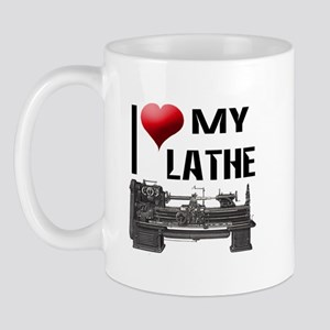 I Heart (Love) My Lathe Mug