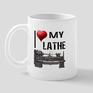 I Heart (Love) My Lathe Mug