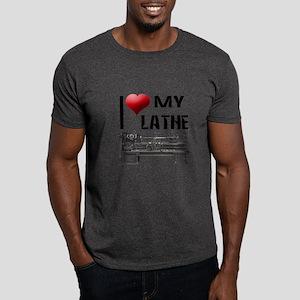 I Heart (Love) My Lathe Dark T-Shirt
