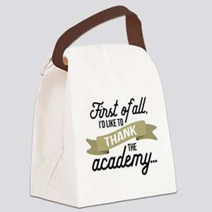 Thank The Academy Canvas Lunch Bag