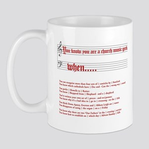 Church Music Geek Mug
