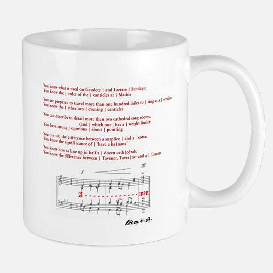 Church Music Geek Mug