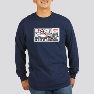 UNPLUG IT Long Sleeve Dark T-Shirt
