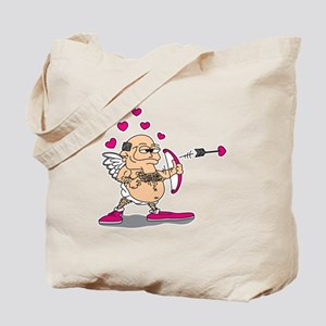 Dirty Old Man Cupid Tote Bag