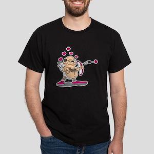 Dirty Old Man Cupid Dark T-Shirt