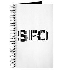 San Francisco SFO Airport Code Journal