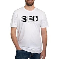 San Francisco SFO Airport Code Shirt