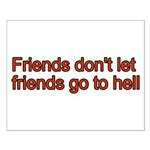 Christian Friend Small Poster