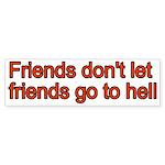 Christian Friend Bumper Sticker