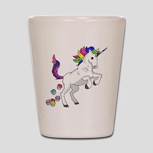 Unicorn Cupcakes Shot Glass