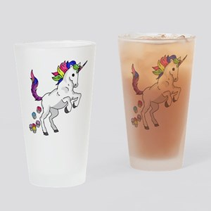 Unicorn Cupcakes Drinking Glass