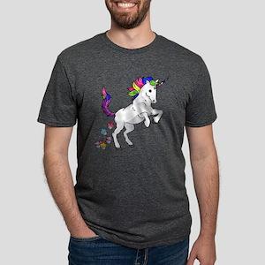Unicorn Cupcakes Mens Tri-blend T-Shirt