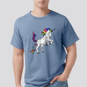 Unicorn Cupcakes Mens Comfort Colors Shirt