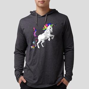 Unicorn Cupcakes Mens Hooded Shirt