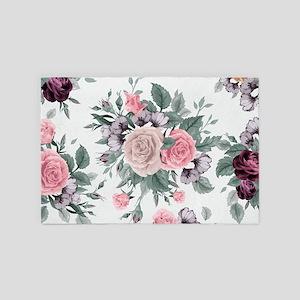 Vintage Roses 4' x 6' Rug