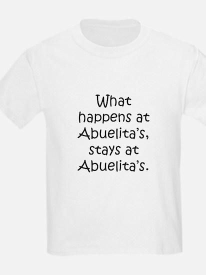 What happens at Abuelita's T-Shirt