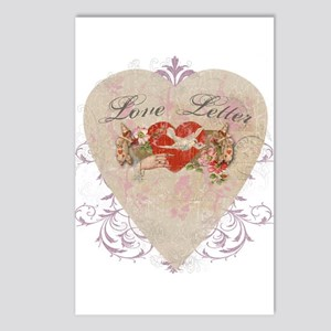 """""""Love Letter"""" Postcards (Package of 8)"""