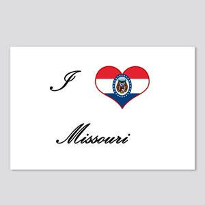 I Love (Heart) Missouri Postcards (Package of 8)