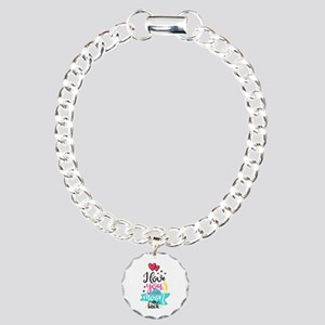 To The Moon & Back Charm Bracelet, One Charm