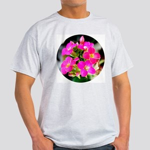 Visions in Pink Ash Grey T-Shirt