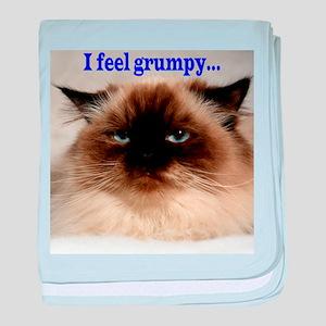 I Feel Grumpy baby blanket