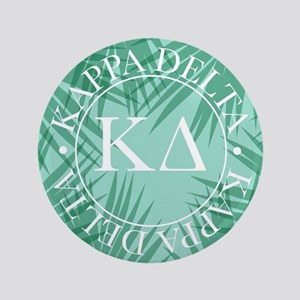 "Kappa Delta Leaves 3.5"" Button"