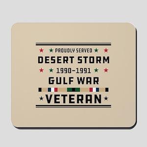 Proudly Served Gulf War Mousepad