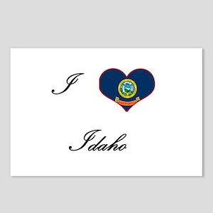 I Love (Heart) Idaho Postcards (Package of 8)