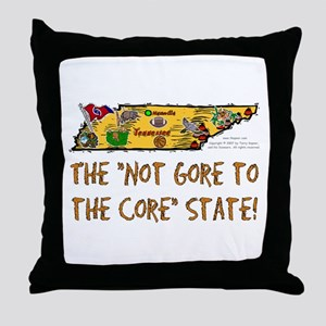 TN-Not Gore! Throw Pillow