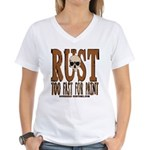 TOO FAST FOR PAINT Women's V-Neck T-Shirt