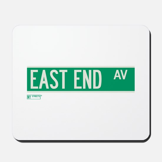 East End Avenue in NY Mousepad