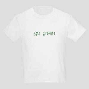 go green- Kids Light T-Shirt