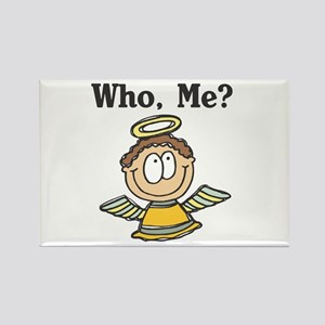 Who Me? Angel Rectangle Magnet