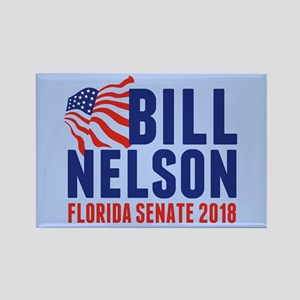 Bill Nelson 2018 Rectangle Magnet