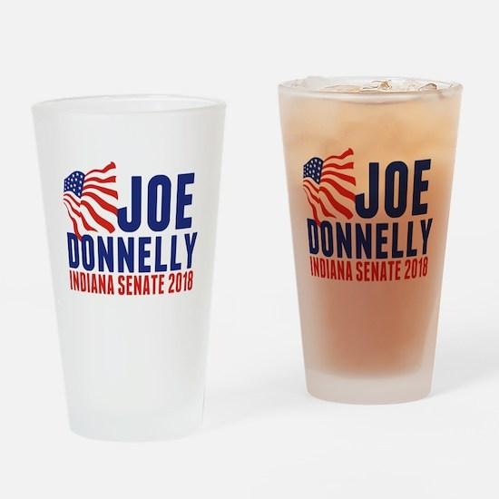 Joe Donnelly 2018 Drinking Glass