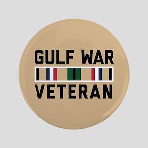 """Gulf War Veteran 3.5"""" Button"""