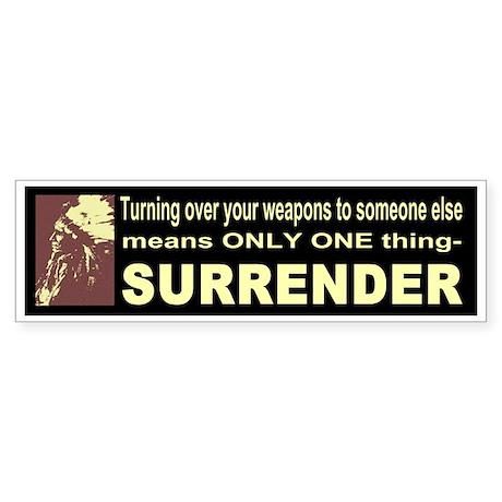 GUN OWNER Bumper Bumper Sticker by PROTESTBUMPERS |Gun Bumper Stickers