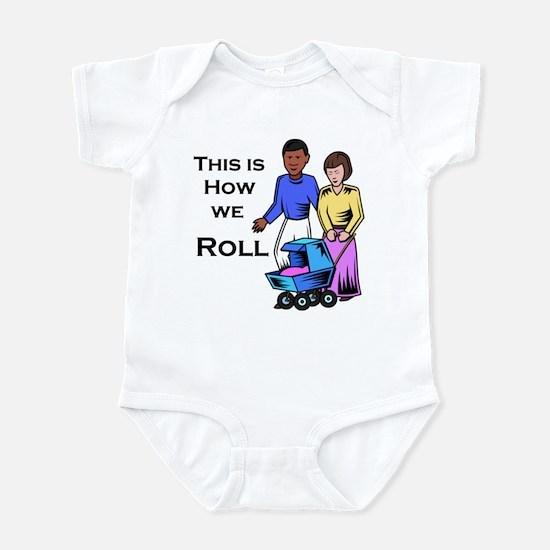 Roll 1 Infant Bodysuit