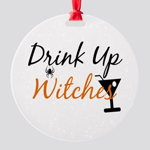 Drink Up Witches Ornament