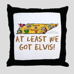 TN-Elvis! Throw Pillow