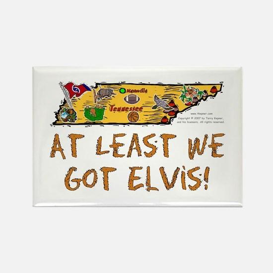 TN-Elvis! Rectangle Magnet
