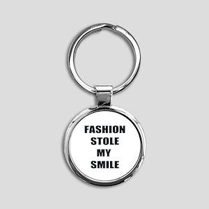 Fashion Stole My Smile Keychains