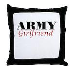 Army Girlfriend Throw Pillow