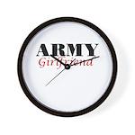 Army Girlfriend Wall Clock