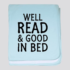 Well Read baby blanket