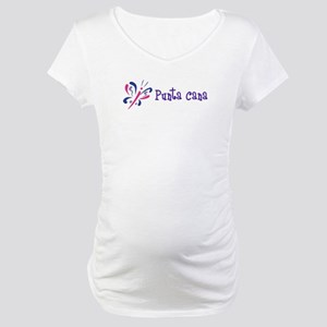 Punta Cana Butterfly Maternity T-Shirt