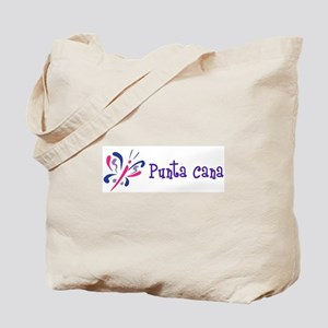 Punta Cana Butterfly Tote Bag