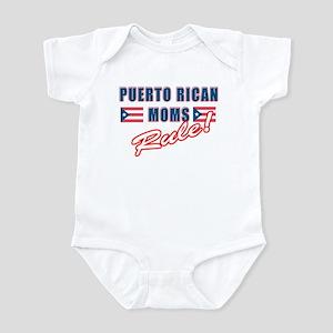 Puerto Rican Moms Rule Infant Bodysuit