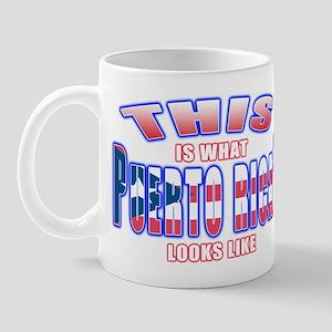 What a Puerto Rican looks lik Mug